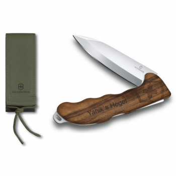 Victorinox Hunter Wood mit Etui